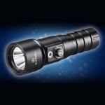 Xtar D26 Whale Cree XM-L U3 1000LM Bärbar Dykning LED Ficklampa Ficklampor