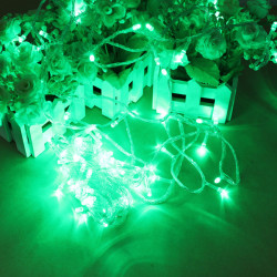 100 LED 10m Green String Dekoration Light For Christmas 110V 220V