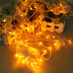 100 LED 10m Yellow String Decoration Light For Christmas 110V 220V Holiday Lights