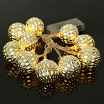 10 Ball Battery Operated LED Fairy Light String Garden Home Decoration Holiday Lights