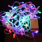 10M 100 LED FAIRY STRING light Multi-color PARTY 220V Holiday Lights