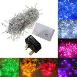 10M 100 LED String Dekoration Lys for Festival Party 220V