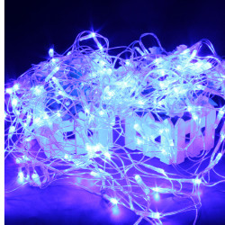 120 blaue LED Web Net Fee Wasserdichte Licht für Weihnachtsgarten