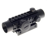 1*30 Reflex Laser Sight Rifle Scope(Red+Green Laser Configurable) Lasers