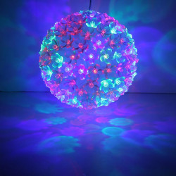150LED Flower Ball Light Rainbow RGB Festival Party Prom Wedding