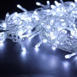 224 LED weiße Vorhang Fee wasserdichte Schnur Licht Dekoration