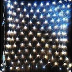 2M x 3M White 200 LED Web Net Fairy Light Christmas Garden