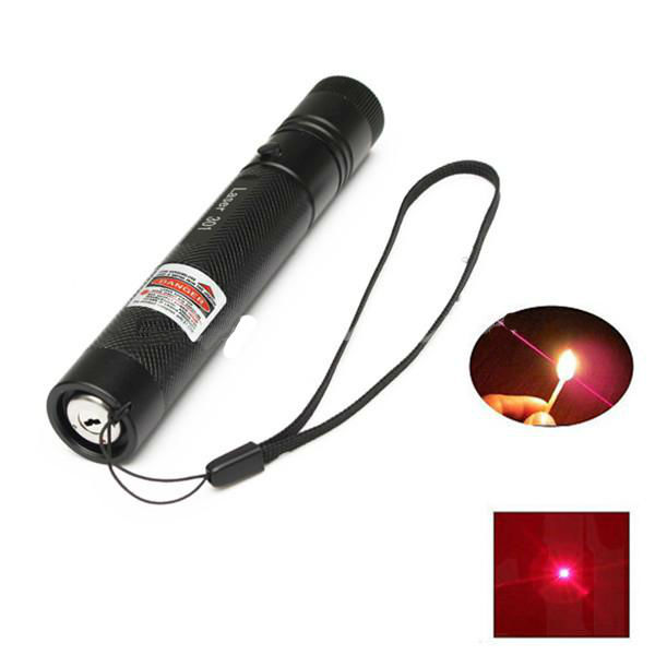 301 Focus 650nm 5mw Red Light Visible Beam Laser Pointer Lasers