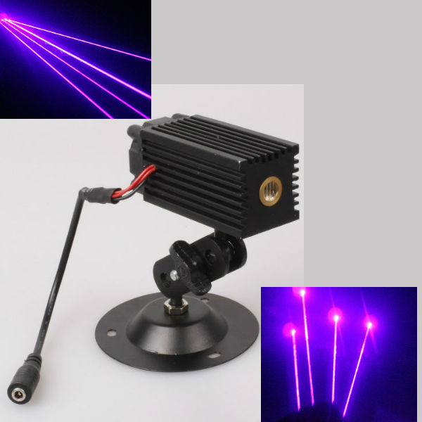 3V 405nm 5MW Purple Beam Laser Modul för Stage Positionering Laserpekare