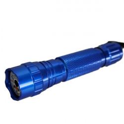 501B 532nm Taschenlampe geformte grünen Laserpointer 5mw (1 * 16340)