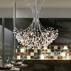 50*80cm K9 Crystal Ceiling Chandelier Pendant Light Lamp 110-240V