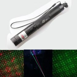 532nm 5mW Rød Grøn Breath-Like Spot Laser Pointer Laserpenne 18650
