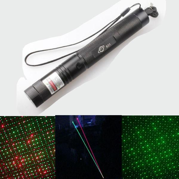 532nm 5mW Rød Grøn Breath-Like Spot Laser Pointer Laserpenne 18650 Laserpointers
