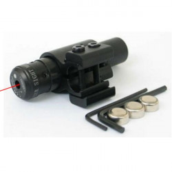 650nm Adjustable Aiming Collimator Red Laser Sight(1mw,5mw)