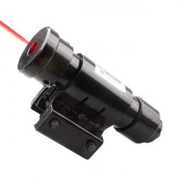 650nm Justerbar Rød Laser Sight for Slangebøsse (1 MW, 5mw)