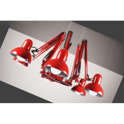 6 Lampen Moderne Spinnen Leuchter hängende Lampen Deckenleuchte