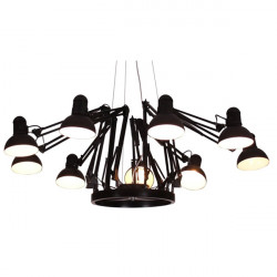 9 Lamps Contemporary Spider Chandelier Pendant Lamp Ceiling Light