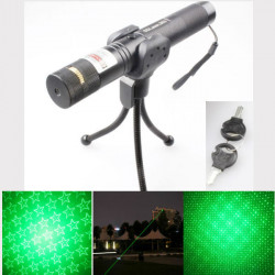 Adjustable Focus Stars 532nm Green Beam Laser Pointer (1mw,5mw)