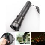 Einstellbar Wasserdicht 532nm grüner Laser Pointer + Batterie (1 mW, 5 mW) Laser