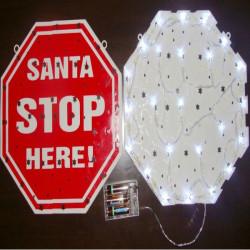 Bar Decoration String LED Battery SANTA Light Christmas Light