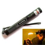 Burning Laser 301 Grøn Laser Pointer Laserpenne Lommelygte High Power Laser 5mW Laserpointers