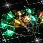 Butterfly 10 LED String Fairy Light Party Festival Decoration Lamp Holiday Lights
