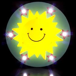 Creative Sun Children Bedroom Cartoon Ceiling Light Lamp 220V