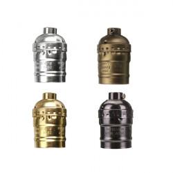 E27 Socket Edison Retro Pendant Lamp Holder Without Wire 110-220V