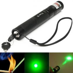 G301 justierbare Fokus 532nm 5mw grünes Licht Laser Pointer