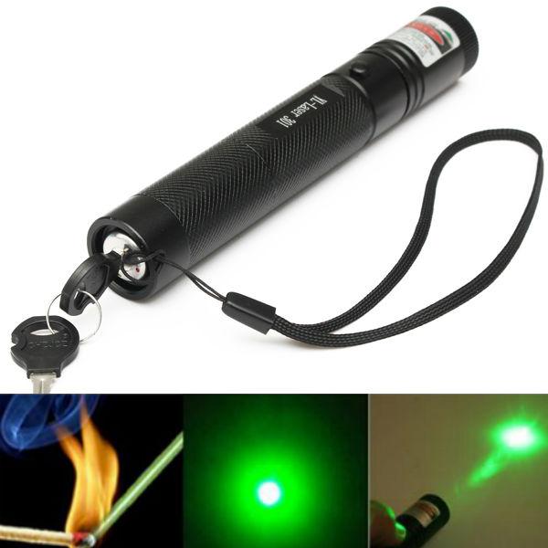 G301 Justerbar Fokus 532nm 5mW Grøn Lys Laser Pointer Laserpenne Laserpointers