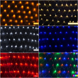LED Nettolicht 1,5 M x 1,5 M 100 LEDs Weihnachtslichterkette US Stecker 110V