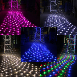 LED Net Light Christmas 4.2M x 1.6M 300leds AC 220V Xmas Fairy Lights