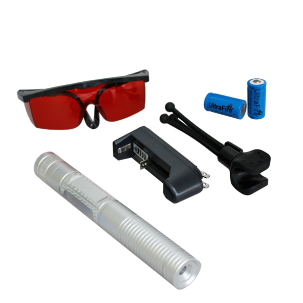 LT 0886 532 Brennen grünen Laserpointer Anzug mit Brille Laser
