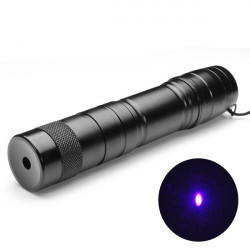 LT 08883 Einstellbare Brenn 5mw 405nm lila Laser Pointer 1 * 16340