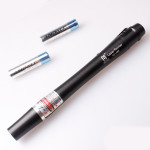 LT-82 650nm Red Laser Pointer Flashlight Shaped 5mw 2*AAA Lasers