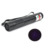 LT-851 405 Nm Multi-Point Purple Star Laserpekare Ficklampa 1MW / 5mW Laserpekare