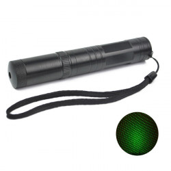 LT-851 532nm Multi-Point Grön Star Laserpekare Ficklampa 1MW / 5mW