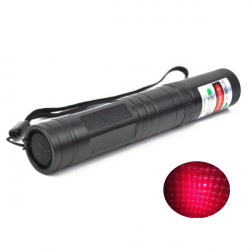 LT-851 650nm Multi-Point Red Star Laser Pointer Flashlight 1mw/4mw/5mw