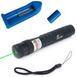 LT-885 532nm Synlig Grøn Laser Pointer Laserpenne 1 MW / 5mw 1x16340 Laserpointers