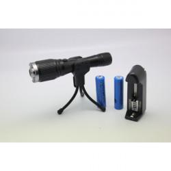 LT-YWA88 Zoom Lys Match 532nm Grøn Laser Pointer Laserpenne (1 MW / 5mW)