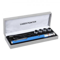 LT-ZS01 532nm 5 Mønstre USB Charge Grøn Laser Pointer Laserpenne (1/5 MW)