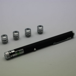 LT-ZS07 532nm 5 Patterns USB Charge Green Laser Pointer(1/5MW)