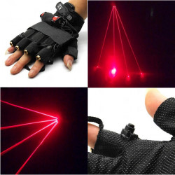 LT-xe650 650nm Glove Red Laser Gloves 1mw/5mw 1x18650