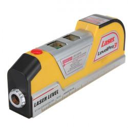 LV02 Laser Horizon Vertikal Åtgärd Tejp 8FT Aligner Linjal