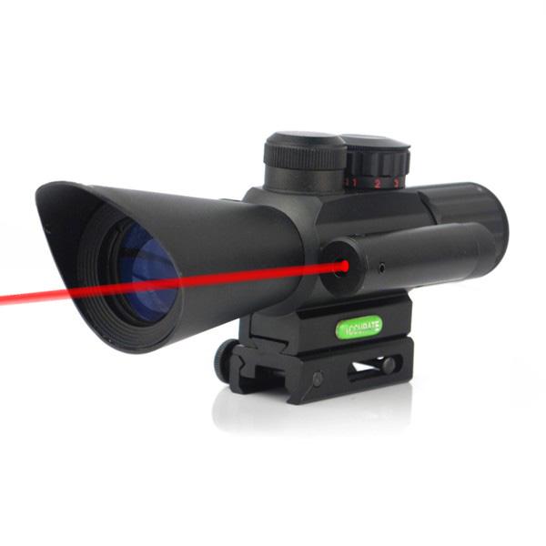 M7 4x30 Tactical Einstellbare Red Zielfernrohre mit Lafette Laser