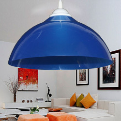 Simple Restaurant Pendant Lamp Shade Single Color Creative Lighting 100-220V