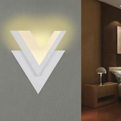 10W Modern V Shape LED Wall Lamp For Living Room Stair Corridor Decor