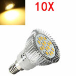 10X E14 6.5W LED Light Warm White 5630SMD 16 LED Spot Light Bulbs 220V LED Light Bulbs