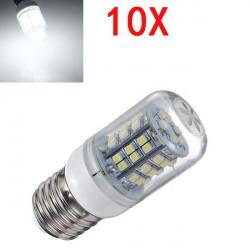10X E27 3W weiße LED Licht 48 SMD3528 Energieeinsparung Mais Birne 200 240V