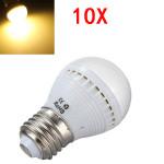10X E27 5W Varmvit 29 SMD 5050 LED-lampa 220-240V LED-lampor